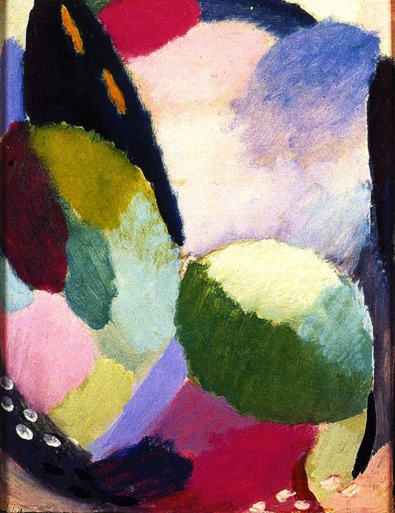 Variation Sunrise | Alexei Jawlensky | oil painting