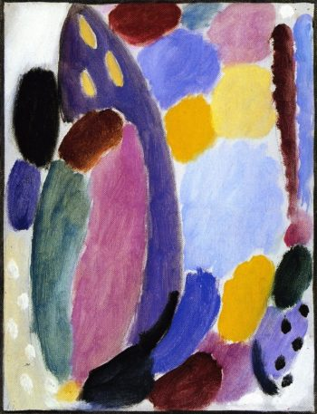 Variation Tenderness | Alexei Jawlensky | oil painting