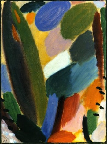 Variation Wind | Alexei Jawlensky | oil painting