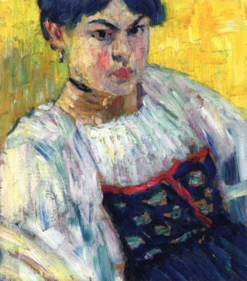 Woman in Traditional Costume | Alexei Jawlensky | oil painting