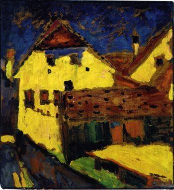 Yellow House | Alexei Jawlensky | oil painting
