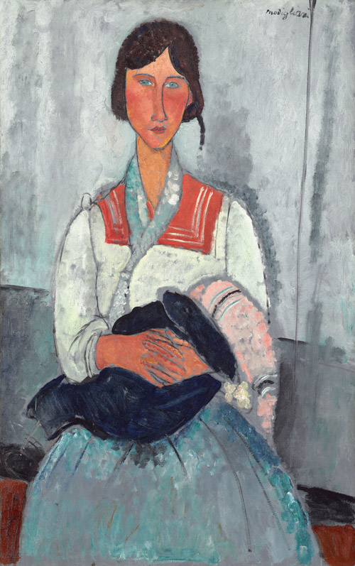 Gypsy Woman with Baby