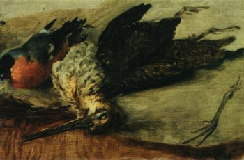 Grouse and Bullfinch Study | Vasily Tropinin | oil painting