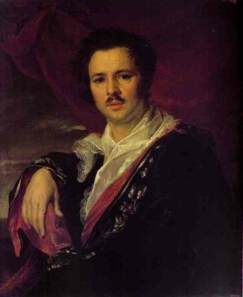 Nikolai Maikov | Vasily Tropinin | oil painting