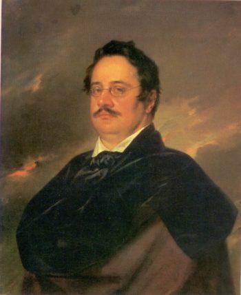 Nikolai Raevsky | Vasily Tropinin | oil painting