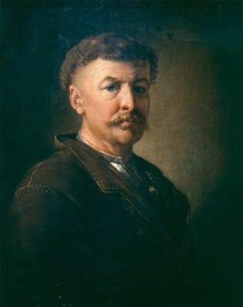 Portrait of a Ukrainian Peasant | Vasily Tropinin | oil painting