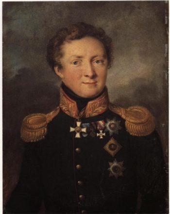 Portrait of General Gorchakov | Vasily Tropinin | oil painting
