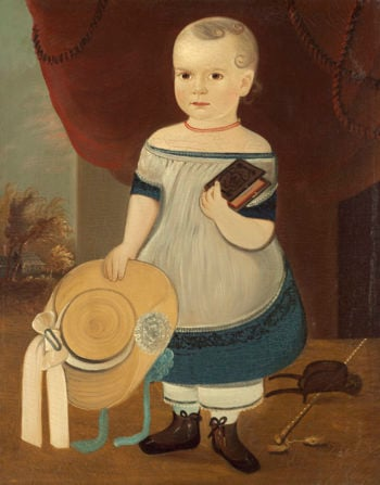 Child with Straw Hat