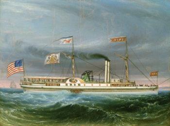 """Steamship """"Erie"""""""