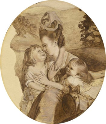 Sketch for The Copley Family