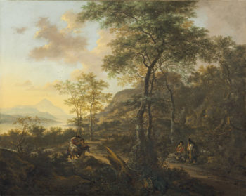 An Italianate Evening Landscape