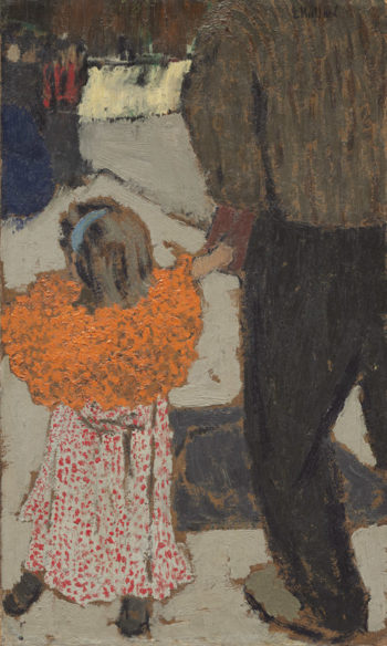 Child Wearing a Red Scarf