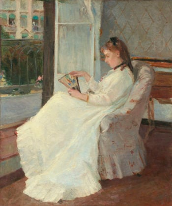 The Artist's Sister at a Window