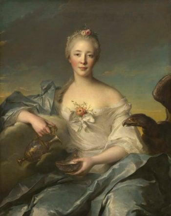 Madame Le F?vre de Caumartin as Hebe