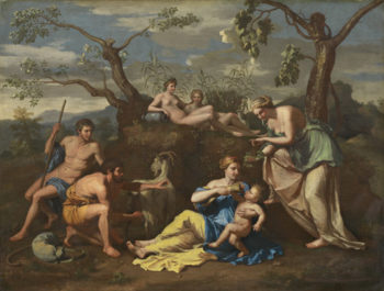 Nymphs Feeding the Child Jupiter
