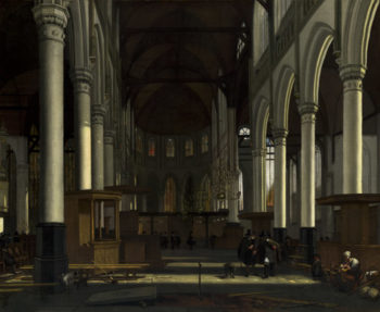 The Interior of the Oude Kerk