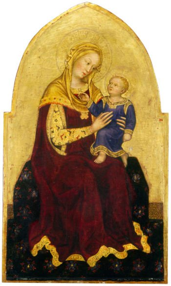 Madonna and Child Enthroned