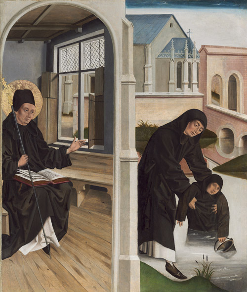 A Miracle of Saint Benedict
