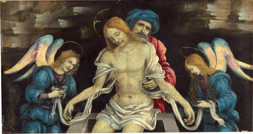 Piet? (The Dead Christ Mourned by Nicodemus and Two Angels)