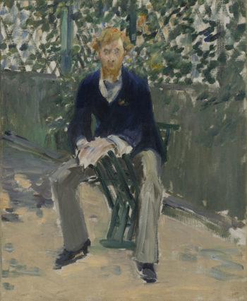 George Moore in the Artist's Garden