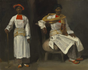 Two Studies of an Indian from Calcutta