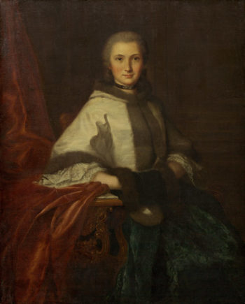 Young Woman with a Muff