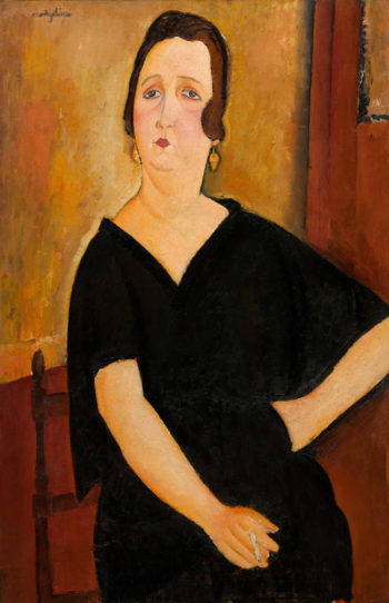 Madame Am?d?e (Woman with Cigarette)