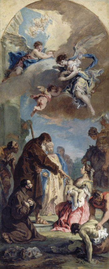 A Miracle of Saint Francis of Paola