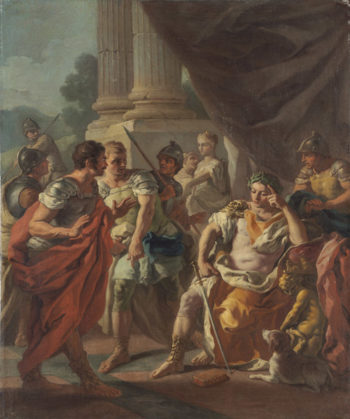 Alexander Condemning False Praise