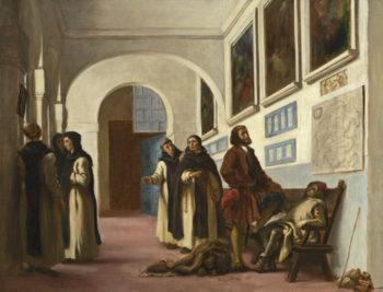 Christopher Columbus and His Son at La R?bida