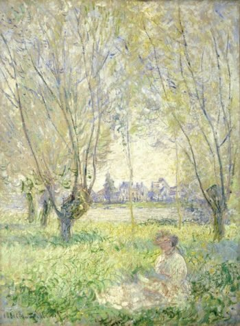 Woman Seated under the Willows