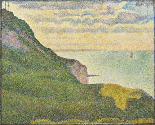Seascape at Port-en-Bessin