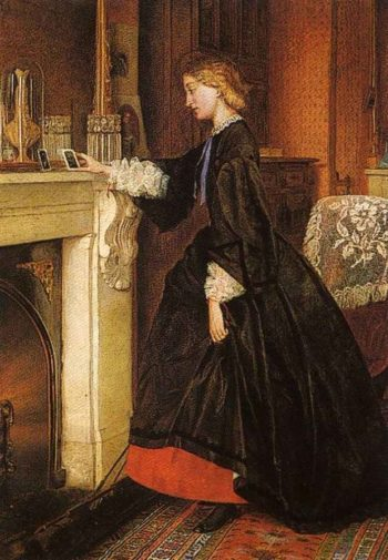 Absence | George Goodwin Kilburne | oil painting
