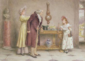 A Sunday Morning | George Goodwin Kilburne | oil painting