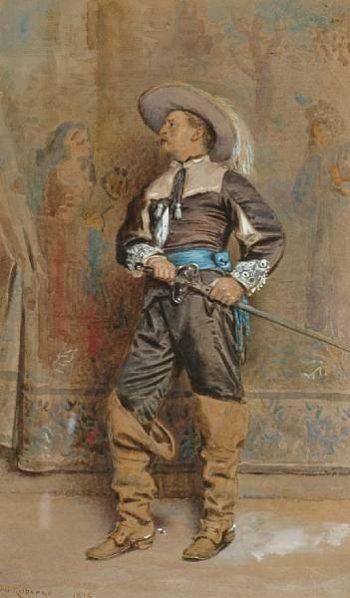 A Cavalier | George Goodwin Kilburne | oil painting