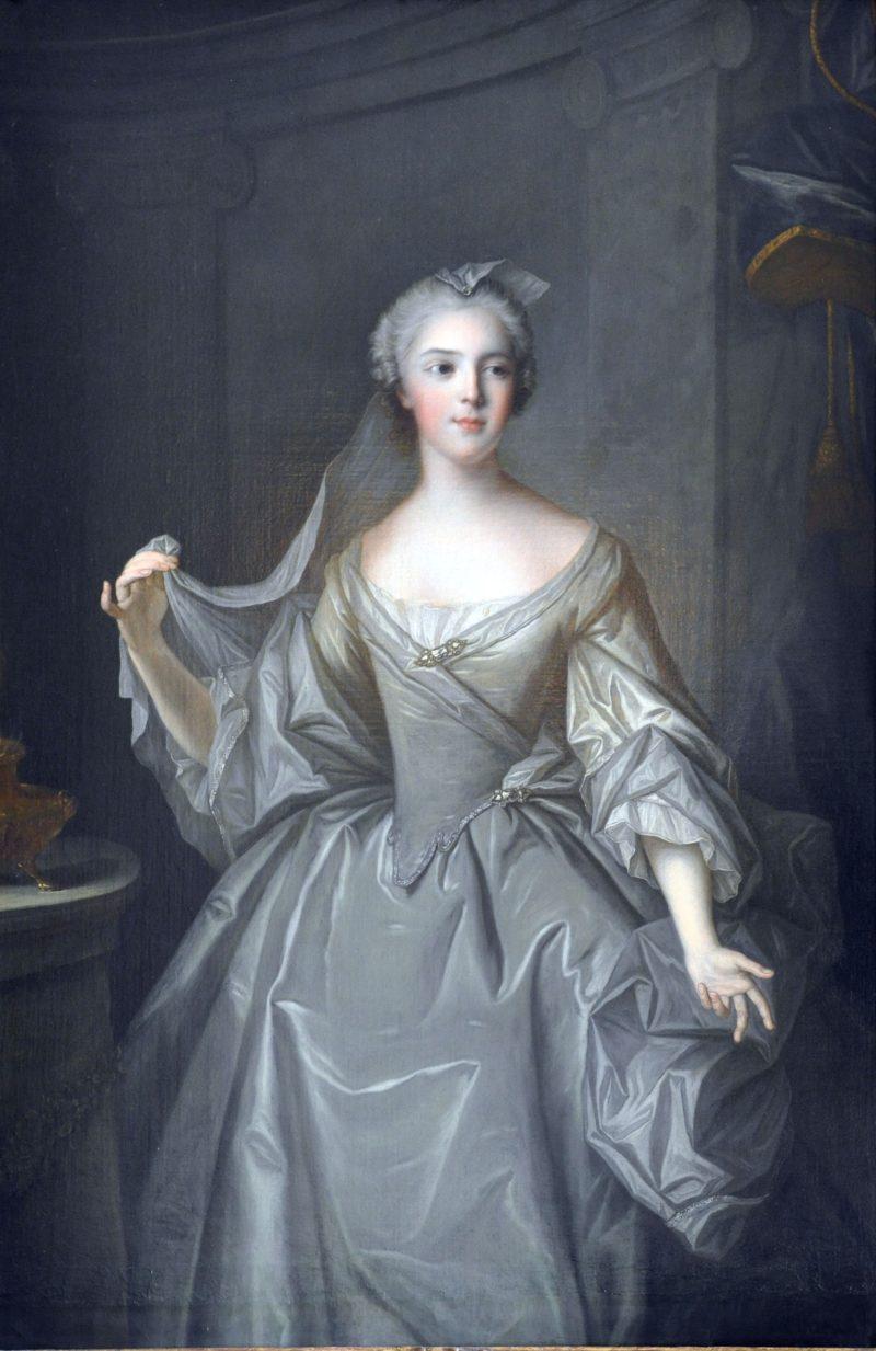 Madame Sophie de France as a Vestal Virgin   Jean Marc Nattier   oil painting