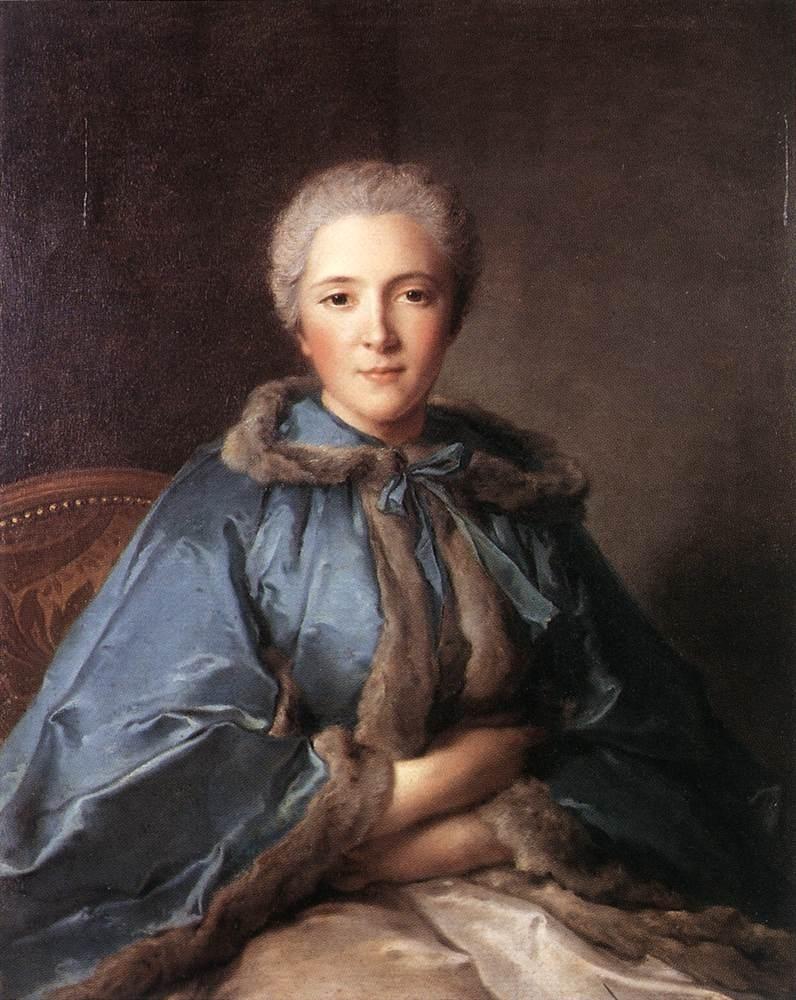 Comtesse de Tillieres | Jean Marc Nattier | oil painting