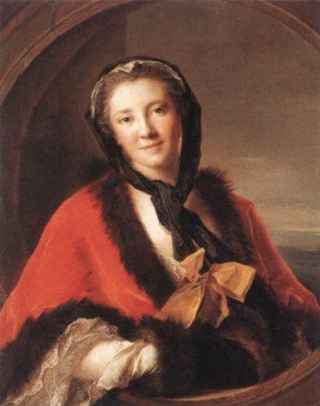 Comtesse Tessin | Jean Marc Nattier | oil painting