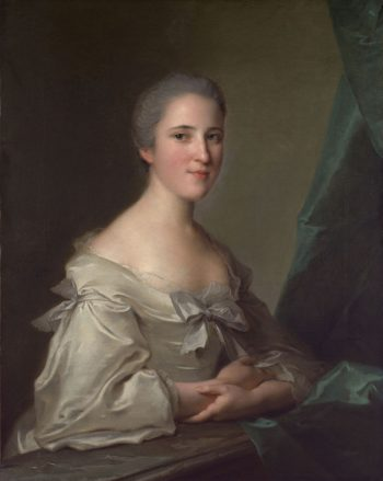 Elizabeth Countess of Warwick | Jean Marc Nattier | oil painting