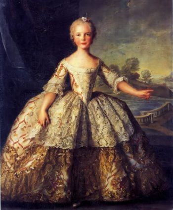 Isabella de Bourbon Infanta of Parma | Jean Marc Nattier | oil painting