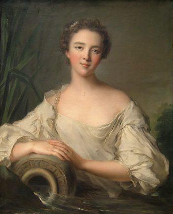 Louise Henriette de Bourbon Conti | Jean Marc Nattier | oil painting