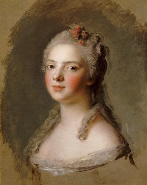 Madame Adelaide de France | Jean Marc Nattier | oil painting