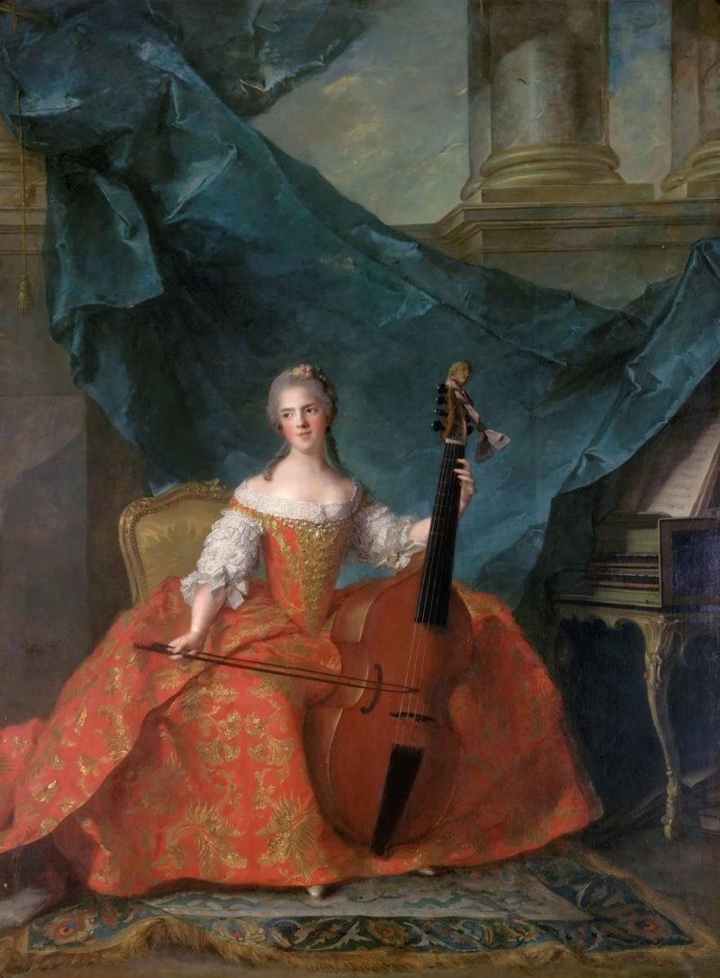 Madame Henriette | Jean Marc Nattier | oil painting