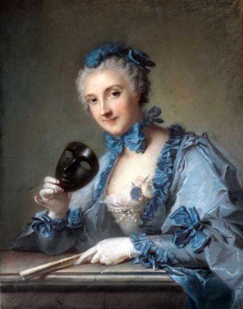 Madame Joseph Nicolas Pancrace Royer | Jean Marc Nattier | oil painting