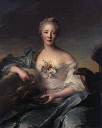 Madame Le Fevre de Caumartin as Hebe | Jean Marc Nattier | oil painting