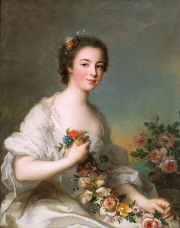 Portrait of a Lady | Jean Marc Nattier | oil painting