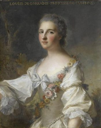 Portrait of Louise Henriette Gabrielle de Lorraine | Jean Marc Nattier | oil painting