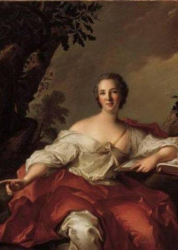 Portrait of Madame Geoffrin   Jean Marc Nattier   oil painting