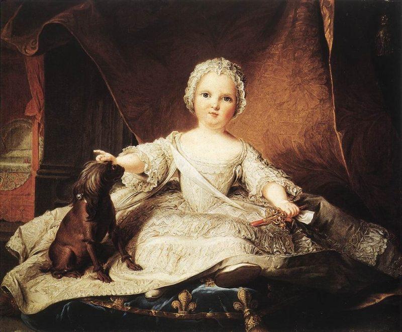 Portrait of Madame Maria Zeffirina | Jean Marc Nattier | oil painting