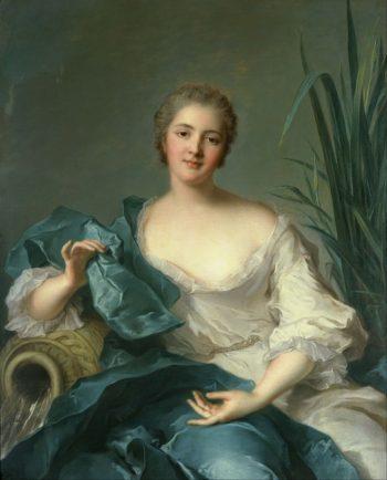 Portrait of Madame Marie Henriette Berthelot de Pleneuf | Jean Marc Nattier | oil painting